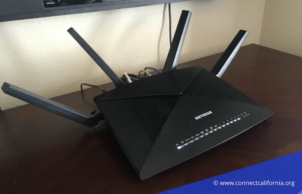customer-owned router.