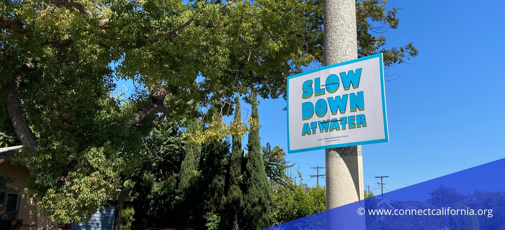 Sign in Atwater Village