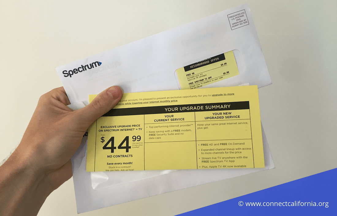 Spectrum mail offers