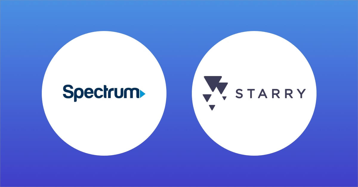 Spectrum vs Starry Internet.